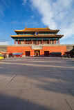 Beijing Forbidden City Gate of Divine Might Royalty Free Stock Images