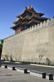 Beijing Forbidden City Gate Tower Royalty Free Stock Images