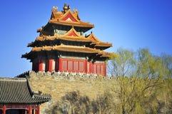 Beijing Forbidden City Gate Tower Stock Photography