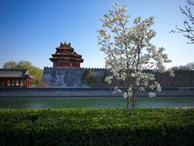 Beijing Forbidden City Gate Tower Royalty Free Stock Image