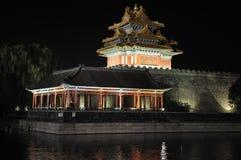 Beijing Forbidden City night scenes royalty free stock images