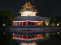 Beijing Forbidden City night scenes Stock Images