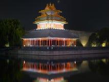 Beijing Forbidden City night scenes Stock Images