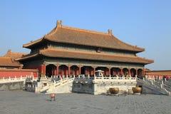 Beijing Forbidden City palace Stock Image