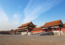Beijing Forbidden City Palace Royalty Free Stock Photos