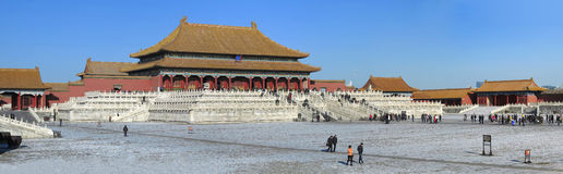Free Beijing Forbidden City Palace Royalty Free Stock Photography - 28328797