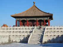 Beijing Forbidden City Palace Stock Photography