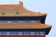 Beijing Forbidden City Palace Royalty Free Stock Image