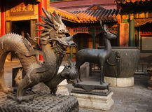 Beijing Forbidden City Palace Dragon Royalty Free Stock Image
