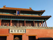 Beijing Forbidden City Palace Royalty Free Stock Images