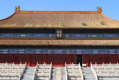 Beijing Forbidden City Palace Royalty Free Stock Photography