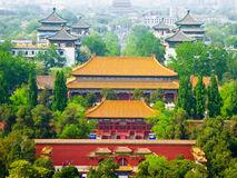 Beijing Forbidden City Palaces Stock Images