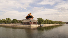 Beijing Forbidden City turret Royalty Free Stock Images