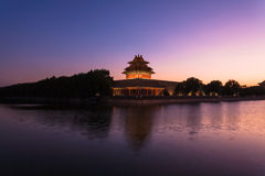 Beijing Forbidden City turrets Royalty Free Stock Photography