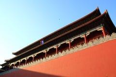 Beijing.Forbidden Stadt lizenzfreie stockbilder