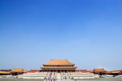 Beijing.Forbidden Stadt Stockbilder