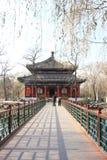 Beijing gammal sommarslott Fotografering för Bildbyråer