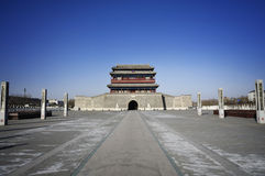 Beijing gates Royalty Free Stock Photo