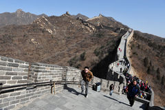 Beijing-Great Wall of China Royalty Free Stock Images