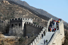 Beijing-Great Wall of China Royalty Free Stock Image