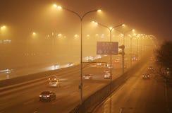 Beijing Haze. View of Beijing haze and smog Royalty Free Stock Images