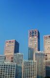 Beijing high-rise building Stock Photos