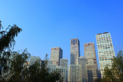 Beijing high-rise building Royalty Free Stock Photography