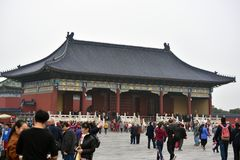 beijing himmeltempel Arkivfoto