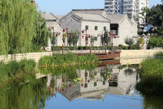 Beijing Histroic Allery. Hutong is Alley. It was first originated in the Yuan Dynasty, there are  more than 6,000 in the hietory. Both sides are generally Royalty Free Stock Photography