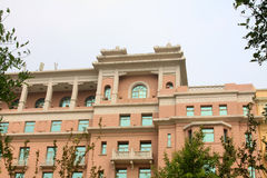 Beijing Hotel grand building exterior Royalty Free Stock Images