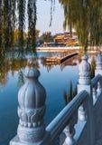 Scenery in Beijing Houhai royalty free stock image