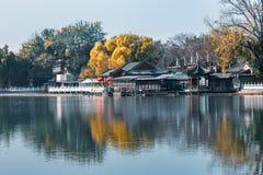 Scenery in Beijing Houhai stock photo