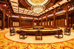 Beijing Huairou Yanxi International Convention Center Royalty Free Stock Image