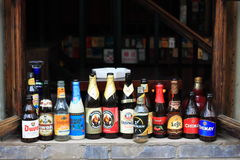 Beijing hutong bar Stock Photography