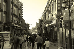 Beijing hutong Stock Photography