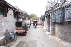 Beijing Hutong Royalty Free Stock Photography