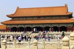 beijing imperiału pałac Zdjęcia Royalty Free