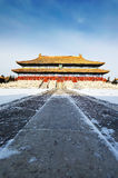 Beijing Imperial Ancestral Temple ancient architecture royalty free stock image