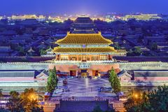 Beijing Imperial City Royalty Free Stock Images