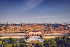 Beijing Imperial City Royalty Free Stock Photo