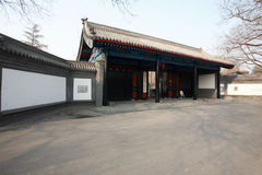 Beijing Imperial College ancient architecture Royalty Free Stock Photos