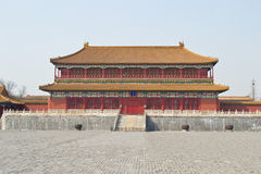 Beijing Imperial Palace. This image is in the Forbidden City (Imperial Palace) in Beijing, China Stock Images