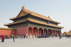 Beijing Imperial Palace Stock Photography
