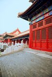 Beijing the imperial palace buildings castle Royalty Free Stock Photography