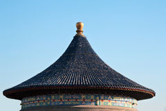 Beijing Imperial Vault of Heaven roof Royalty Free Stock Photos