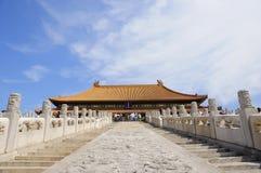 beijing imperialistisk slott Arkivfoto