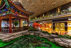 Beijing International Airport indoor, China Stock Photography