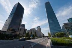 Beijing International Trade Building Royalty Free Stock Image