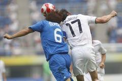beijing japan olympic fotboll USA v Arkivfoton