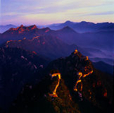 Beijing Jiankou Great Wall Royalty Free Stock Photo